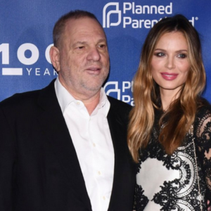 Harvey Weinstein at a Planned Parenthood event