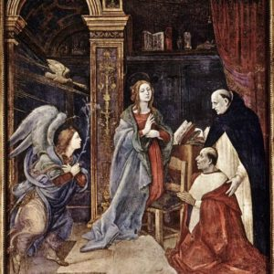 Filippino Lippi, The Annunciation (1491)