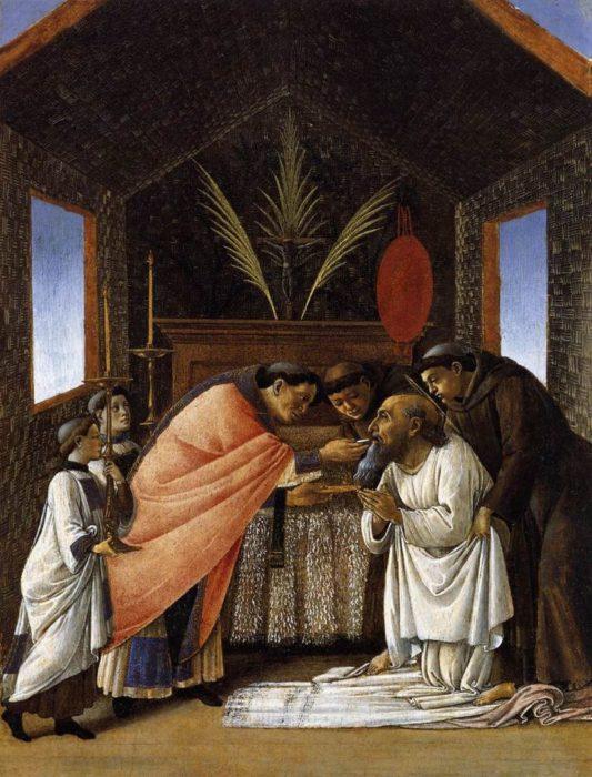 Sandro Botticelli, The Last Communion of St. Jerome (1495)