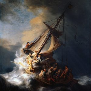 Rembrandt, Christ int he Storm on the Lake of Galilee (1633)