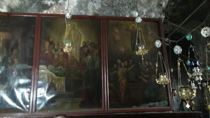 Artistic Depictions of the Dormition and Assumption of Mary, from the Tomb of Mary in Jerusalem